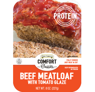Beef Meatloaf with Tomato Glaze