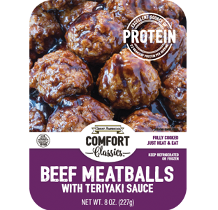 Beef Meatballs with Teriyaki Sauce