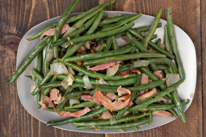 Green Beans with Bacon and Onions