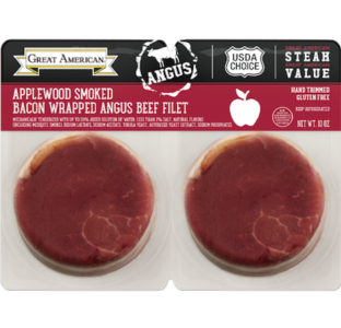 Applewood Smoked Bacon Wrapped Angus Beef Filet